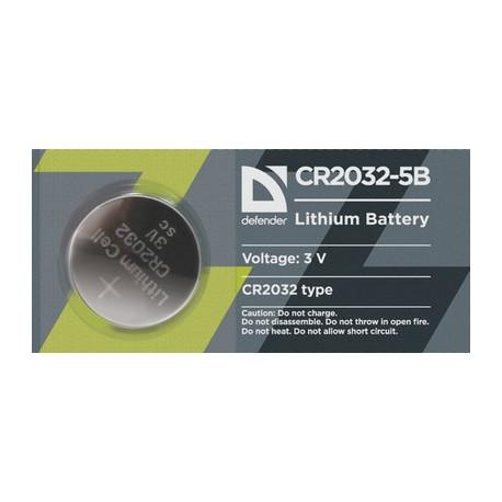 Батарейка Defender CR2032