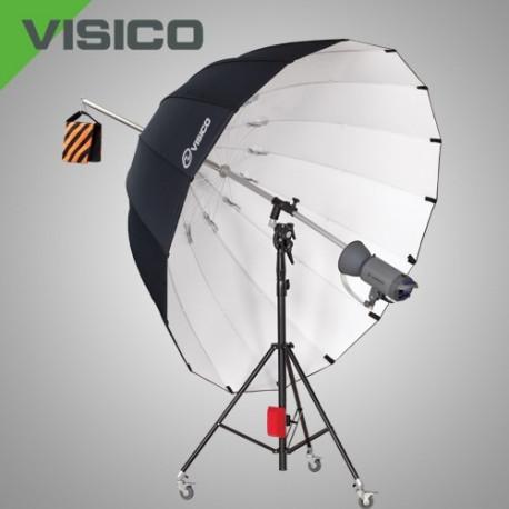 Зонт 220см серебряный Б/У AU-130