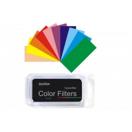 Godox набор цветных гелевых фильтров CF-07