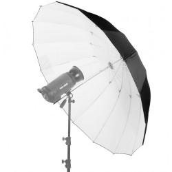 Зонт черный-белый на отражение 100см umb-wb100s