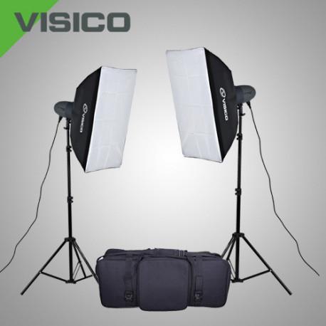 Набор импульсного света VL-300P c софтбоксами