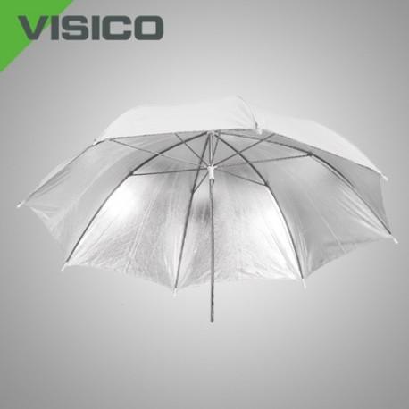 Зонт серебро/ белый