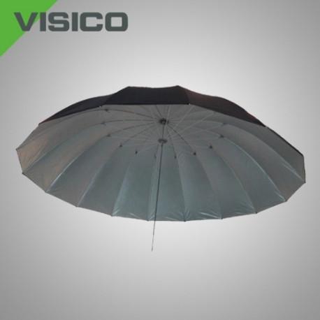 Зонт серебро/ черный
