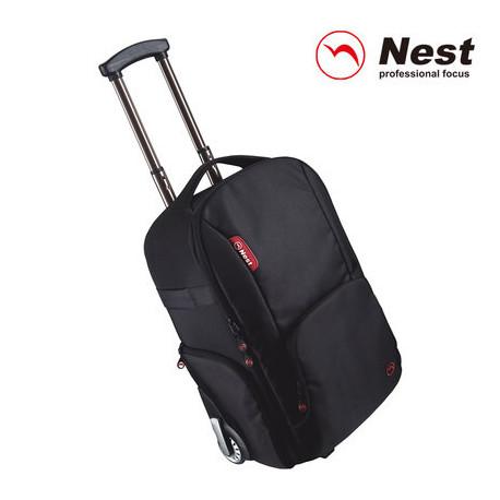 Черный рюкзак на роликах Nest Athena 100