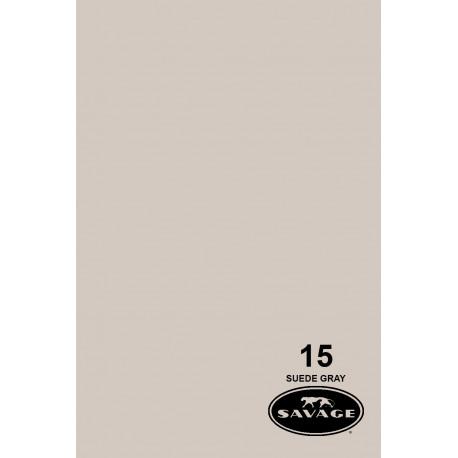 Бумажный фон - 15 Замшевый серый