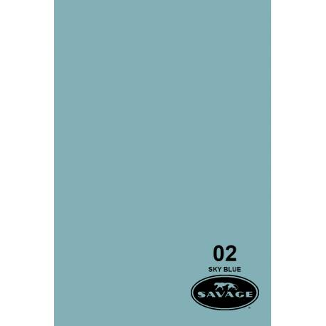 Бумажный фон — 02 Небесно голубой