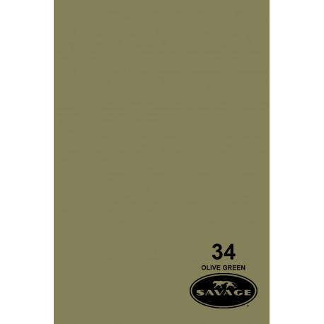 Бумажный фон - 34 Оливково-зеленый
