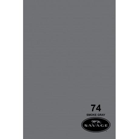 Бумажный фон - 74 Дымчатый серый