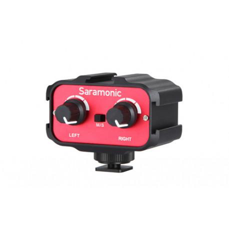 Аудиоадаптер Saramonic SR-AX100