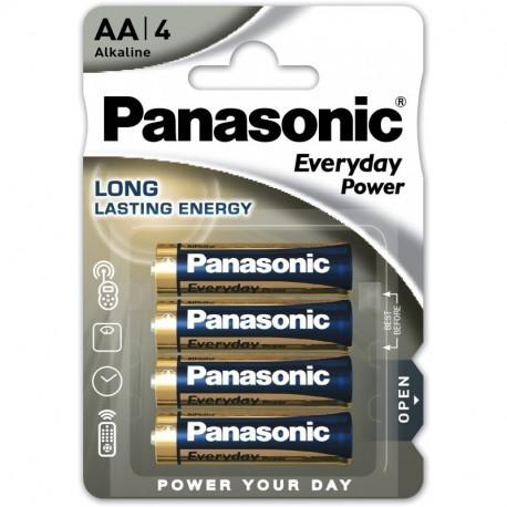 Батарейки Panasonic AA щелочные Everyday Power 4шт