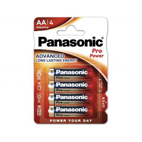 Батарейки Panasonic AA щелочные Pro Power 4шт