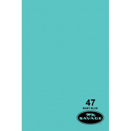 Бумажный фон - 47 Детский голубой
