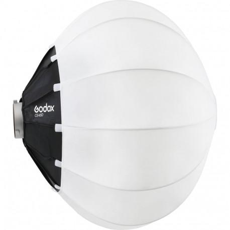 Софтбокс сферический GodoxCS65D со шторками