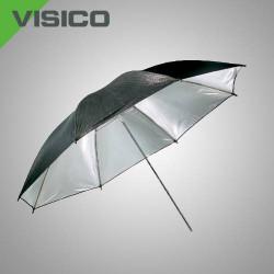 Зонт серебро/черный Visico UB-003 100см