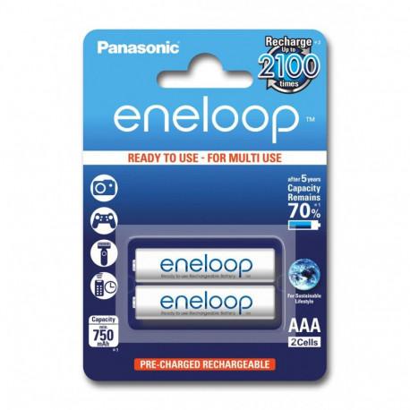 Аккумулятор Panasonic Eneloop AAA  750 mAh, 2 шт