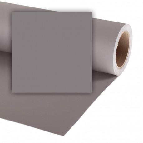 Бумажный фон Colorama 2,72x11м, цвет Smoke Grey