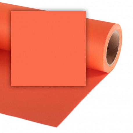 Бумажный фон Colorama 2,72x11м, цвет Pumpkin