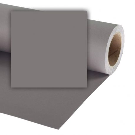 Бумажный фон Colorama 2,72x11м, цвет Mineral Grey