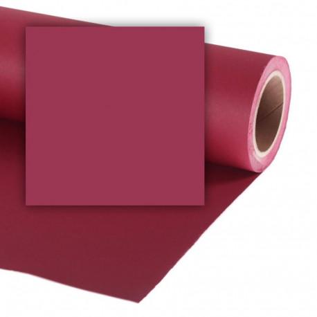 Бумажный фон Colorama 2,72x11м, цвет Crimson