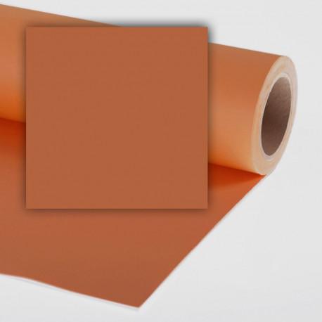 Бумажный фон Colorama 2,72x11м, цвет Ginger