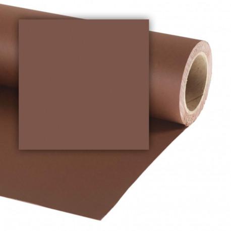 Бумажный фон Colorama 2,72x11м, цвет Peat Brown
