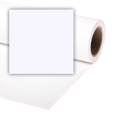 Бумажный фон Colorama 2,72x11м, цвет Arctic White