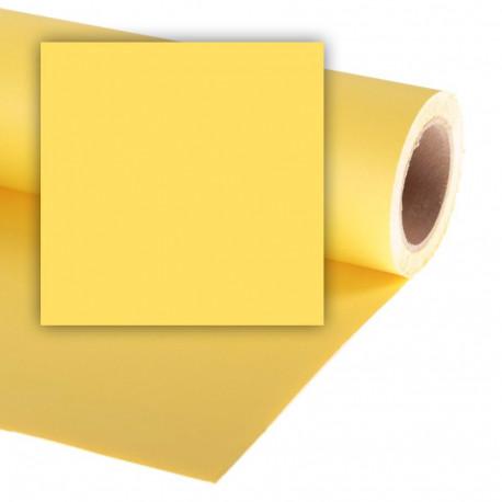 Бумажный фон Colorama 2,72x11м, цвет Dandelion