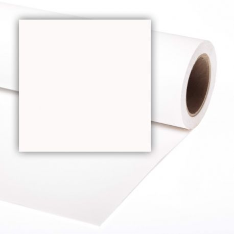 Бумажный фон Colorama 2,72x11м, цвет Super White
