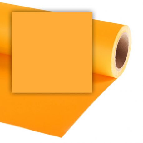 Бумажный фон Colorama 2,72x11м, цвет Sunflower