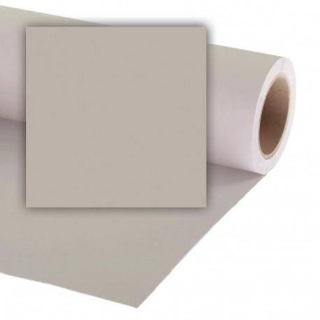 Бумажный фон Colorama 2.72x11м, цвет Steel Grey