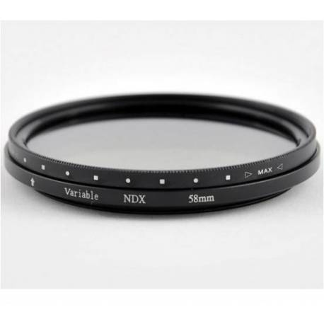 Фильтр нейтральный ND2-ND400 CAP-FVNDR 62mm