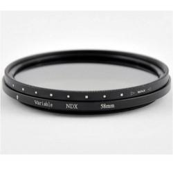Фильтр нейтральный ND2-ND400 CAP-FVNDR 82mm