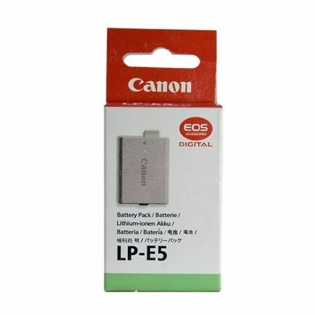Аккумулятор CANON LP-E5