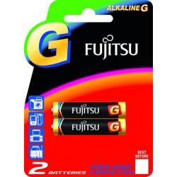 Батареи щелочные Fujitsu LR03G(2B), серии G, типа ААA, 2 шт, (в