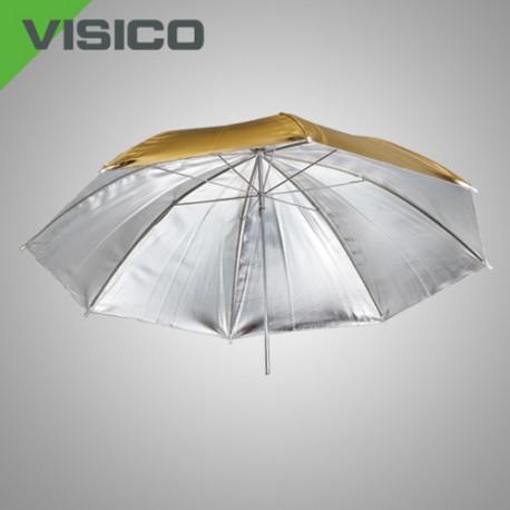 Зонт золото/ серебро, 100см
