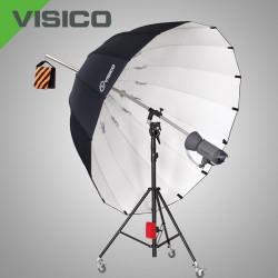 Зонт 220см серебряный